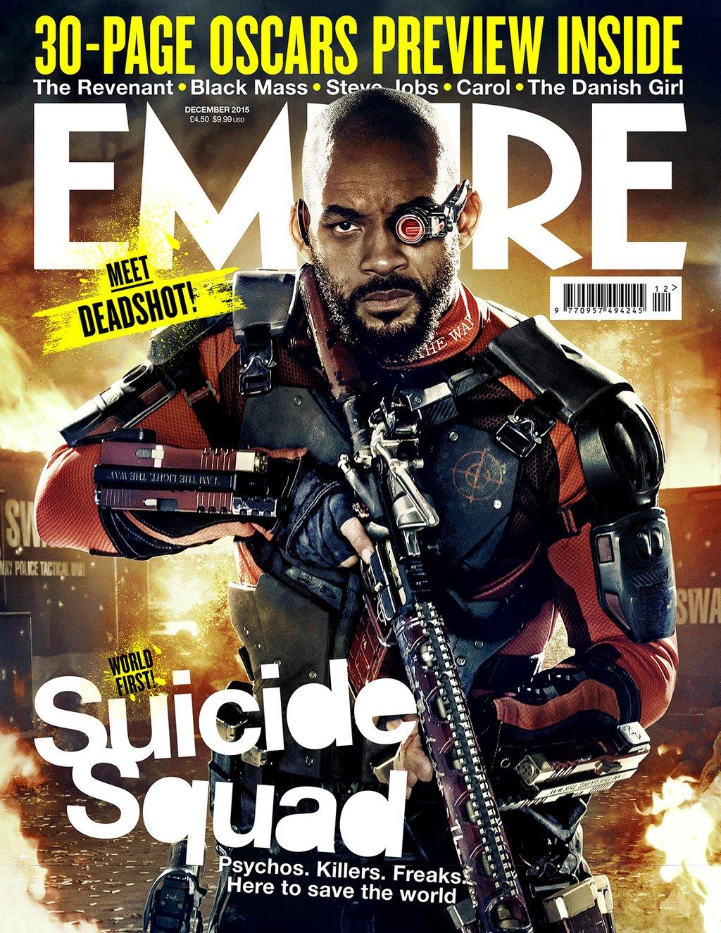 [MàJ] Suicide Squad : Le Joker, Harley Quinn, Deadshot et ... Will Smith Deadshot