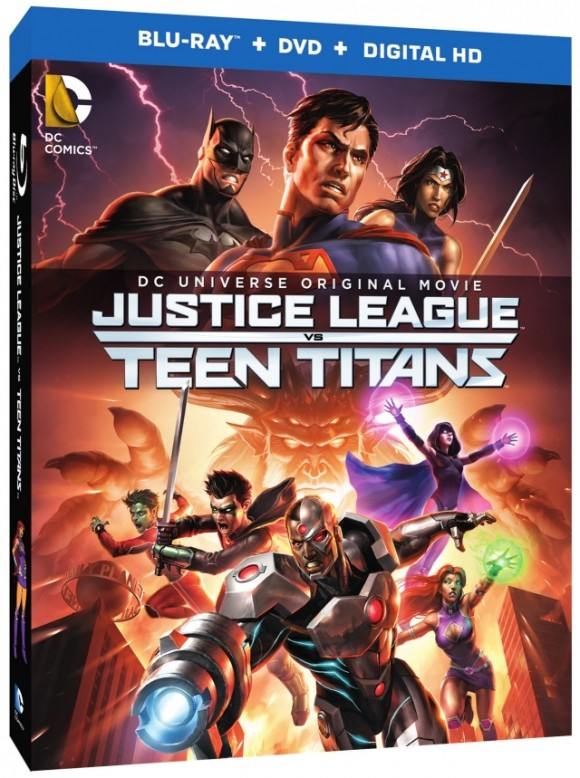 justice-league-teen-titans-cover