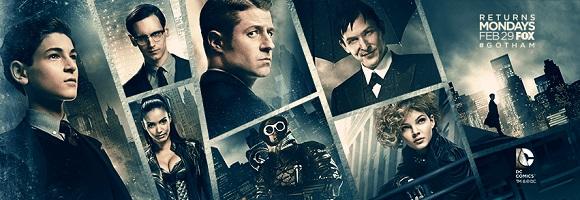 Calendrier Gotham.Gotham Calendrier Les Toiles Heroiques