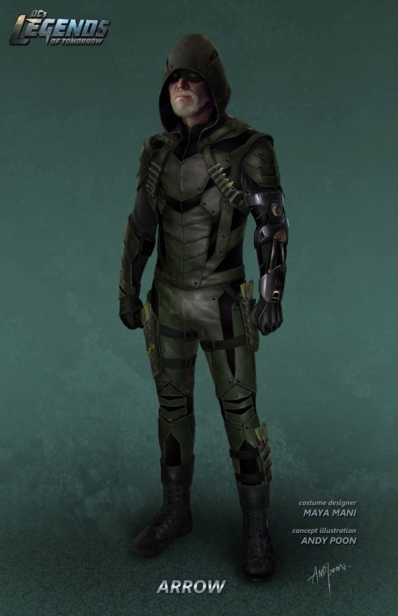 LEGENDS OF TOMORROW ( série TV dérivée de Flash et Arrow ) - Page 3 Legends-of-tomorrow-concept-art-green-arrow-580x896