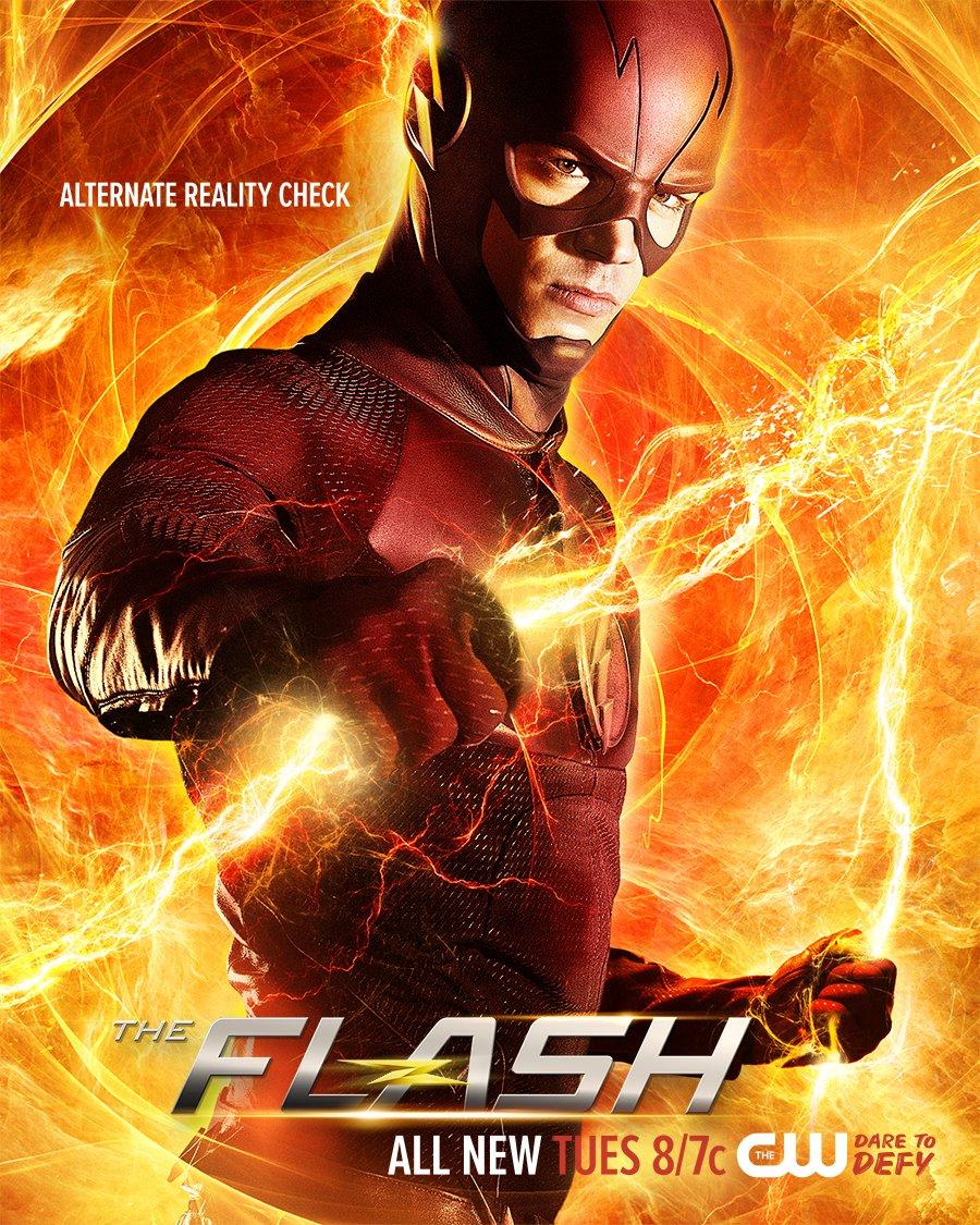 The flash votre avis sur l pisode fast lane 2 12 for Poster devant la fenetre je guette