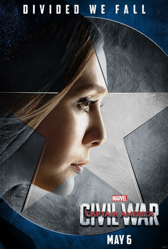 CAPTAIN AMERICA CIVIL WAR  - Page 10 Captain-america-civil-war-poster-scarlet-witch-580x860