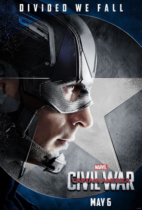 CAPTAIN AMERICA CIVIL WAR  - Page 10 Captain-america-civil-war-poster-steve-rogers-580x858