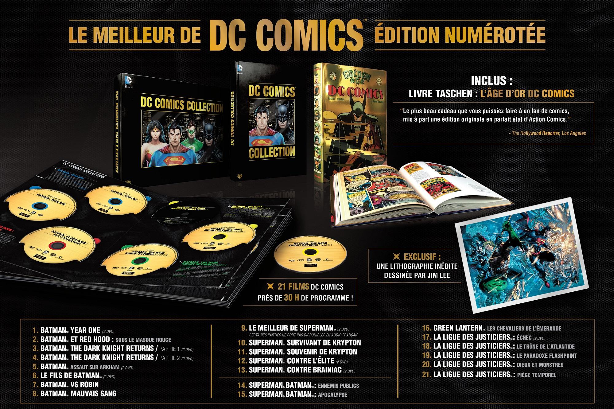 [Terminé] Concours DC Comics : Un coffret collector DC ... Jesse Eisenberg Lex Luthor