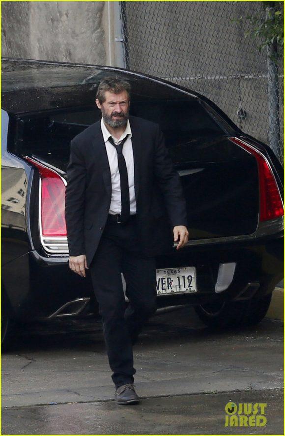 LOGAN (Wolverine 3) Hugh-jackman-beard-wolverine-3-580x885