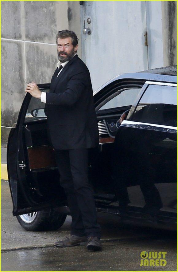 LOGAN (Wolverine 3) Hugh-jackman-beard-wolverine-3-set-580x885