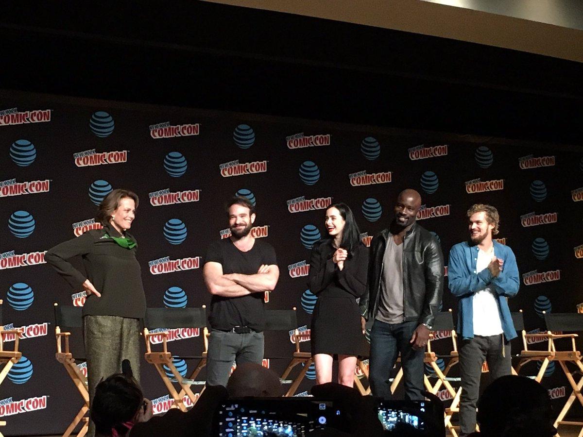 New York Comic Con: Sigourney Weaver sera dans The Defenders