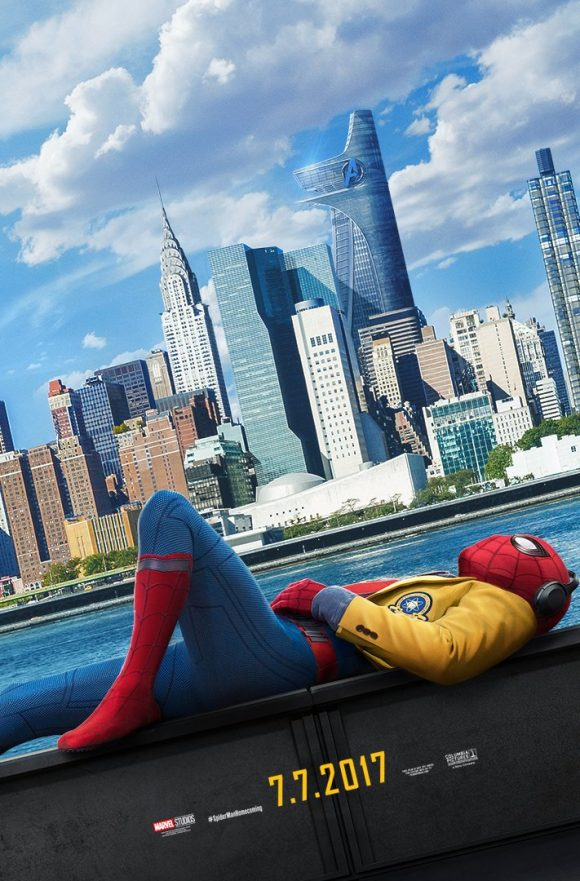 [Marvel] Spider-Man : Homecoming (2017) - Page 3 Poster-spider-man-homecoming-580x881