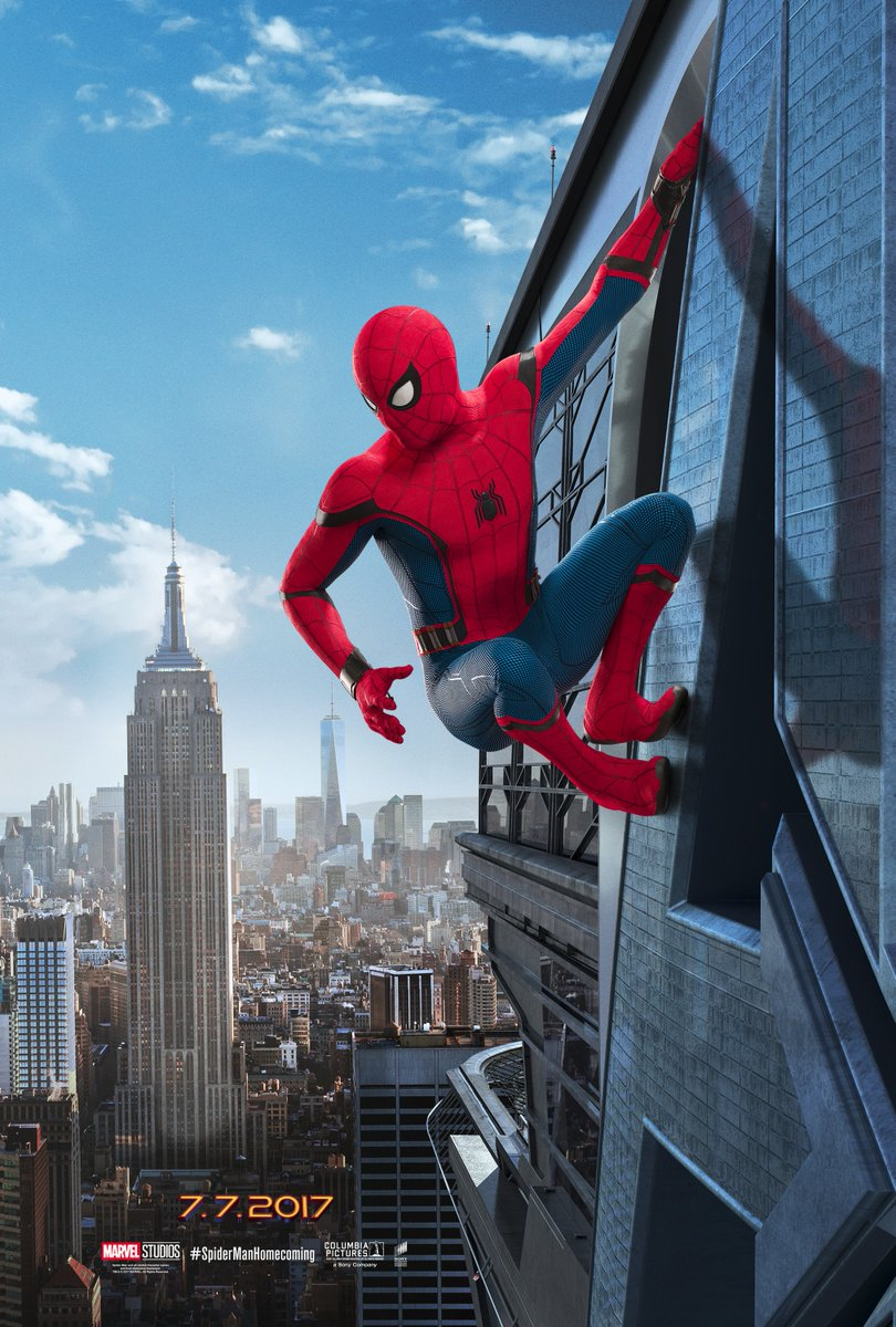 [Marvel] Spider-Man : Homecoming (2017) - Page 3 Spider-man-homecoming-affiche