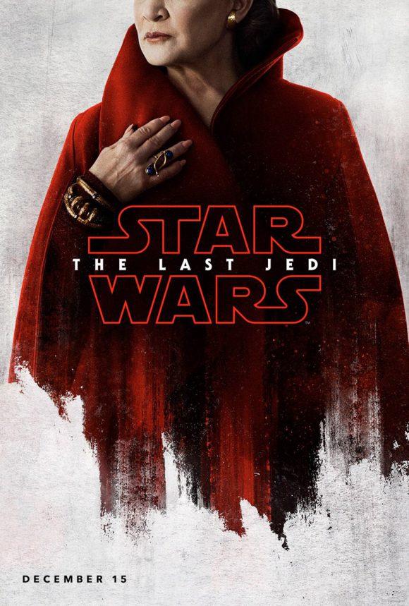 La Saga Star Wars - Page 18 Star-wars-the-last-jedi-poster-leia-580x859