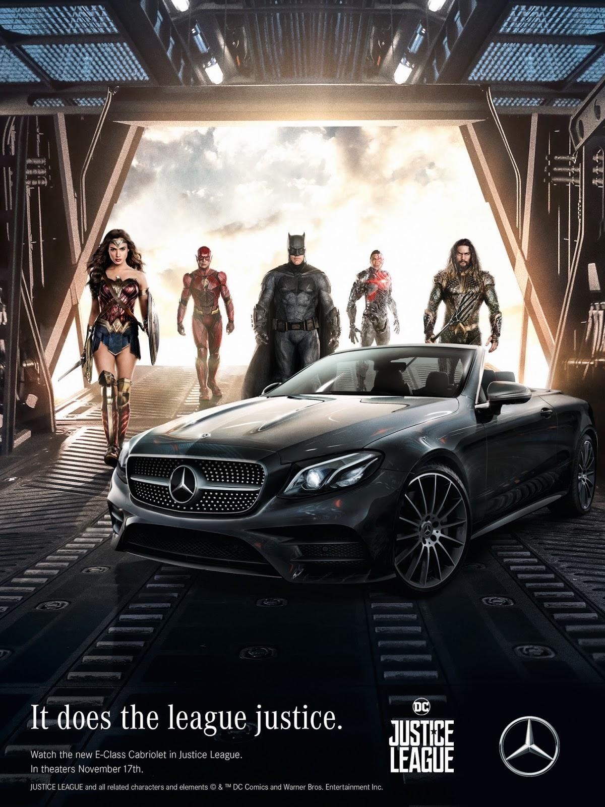 Justice league la bande annonce finale en vost votre for Justice league mercedes benz