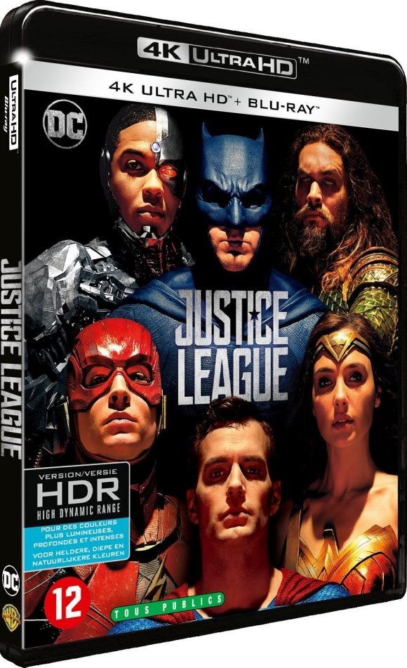 justice league tous les visuels de la sortie vid o dvd blu ray steelbook les toiles. Black Bedroom Furniture Sets. Home Design Ideas