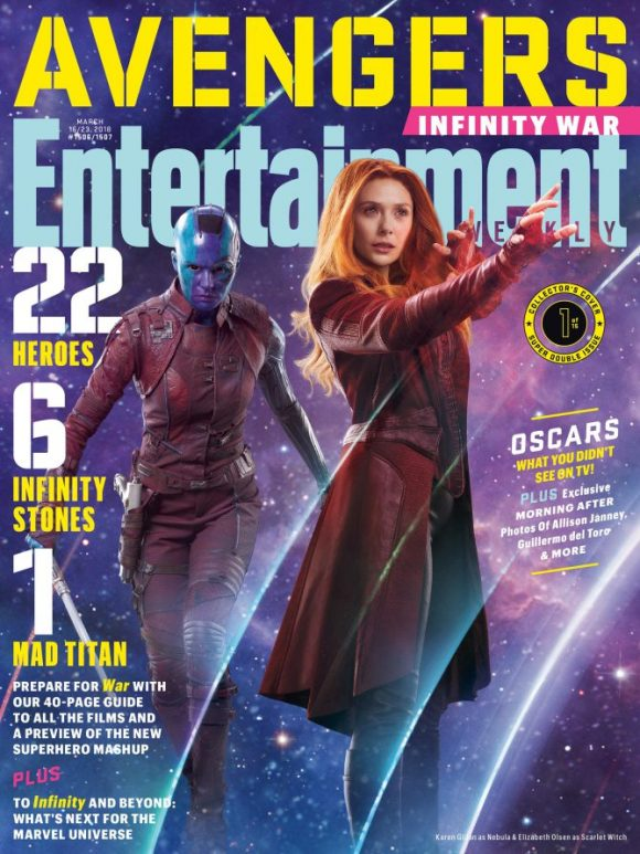 War15 Avengers Entertainment Weekly – Couvertures Infinity Pour QdthsrCx