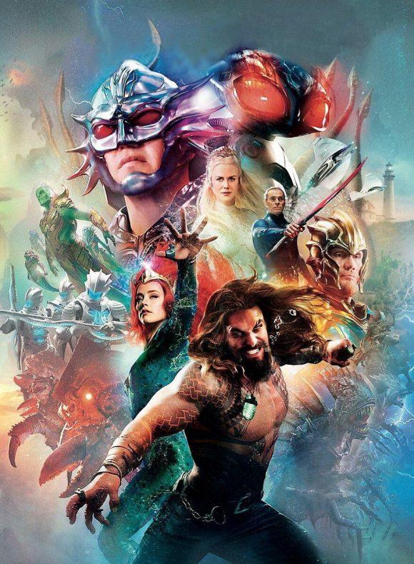Aquaman : Le Poster-comic De La Comic-Con !