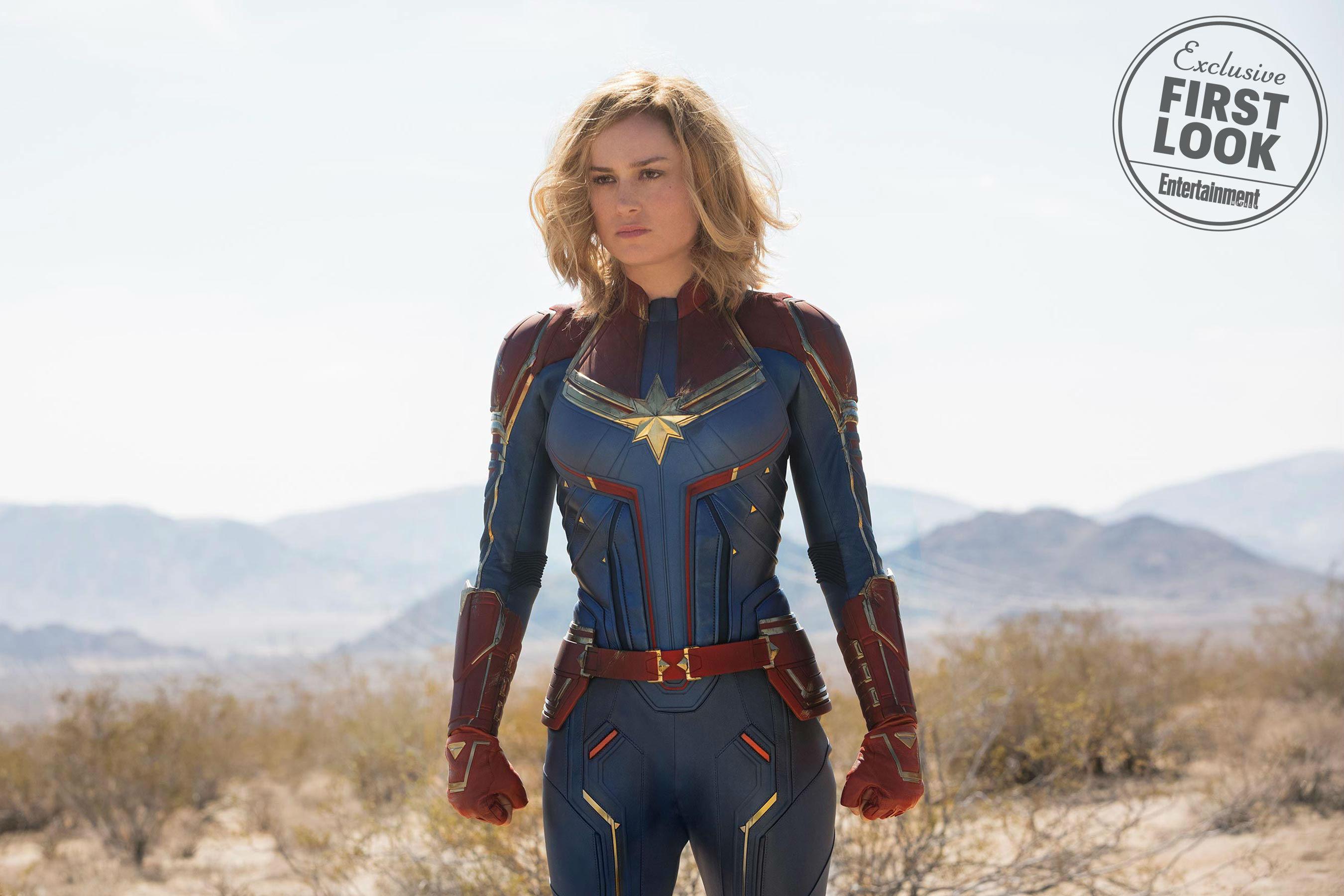 Premières images officielles — Captain Marvel