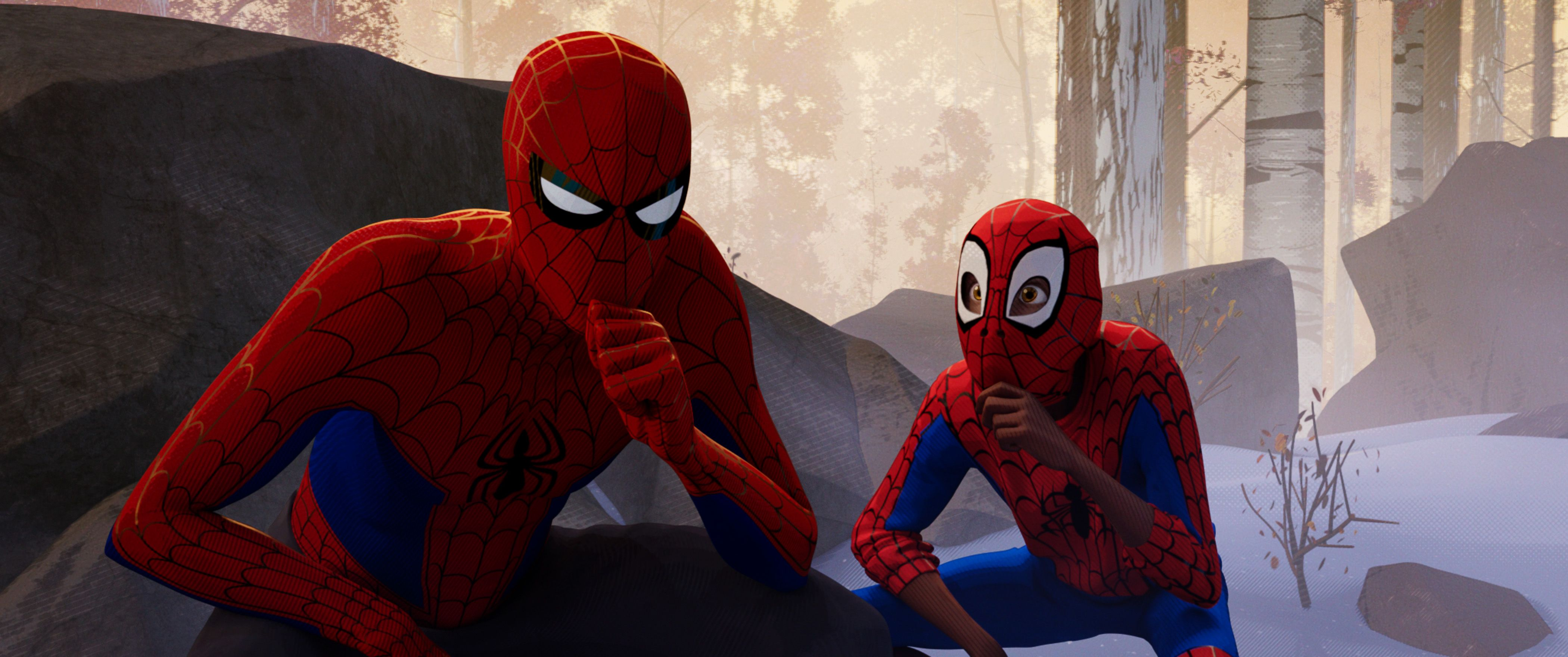 Spider Man Into The Spider Verse International Poster And Promo