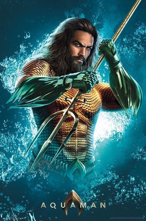 Aquaman : Un Nouveau Poster… à La Veille De La Bande