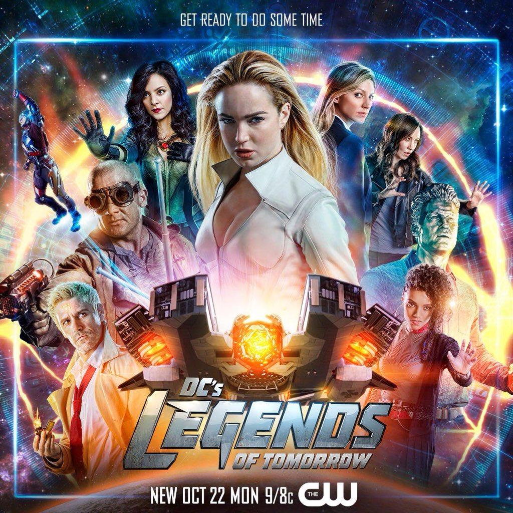 Legends of Tomorrow : Le poster de la saison 4 ! - Les ...