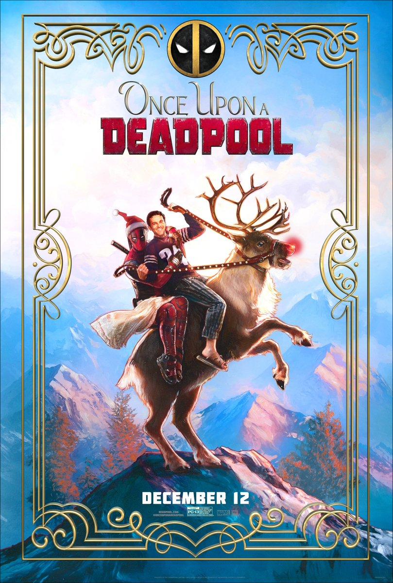 Deadpool 2 Negasonic >> Once Upon A Deadpool : Le poster du film ! - Les Toiles Héroïques