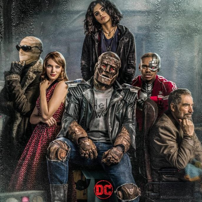 Doom Patrol : Le poster de la série ! - Les Toiles Héroïques