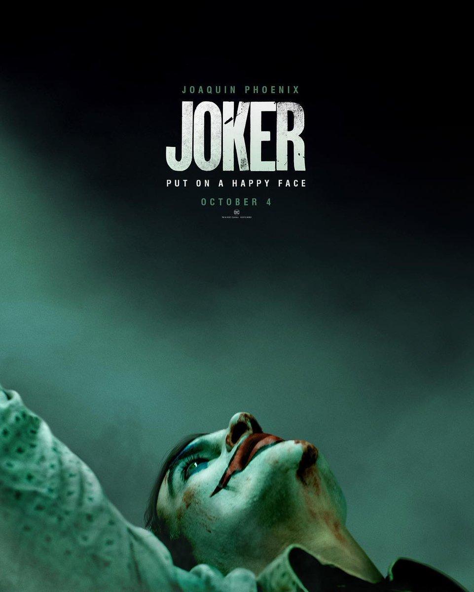 Joker : Découvrez le poster officiel du film