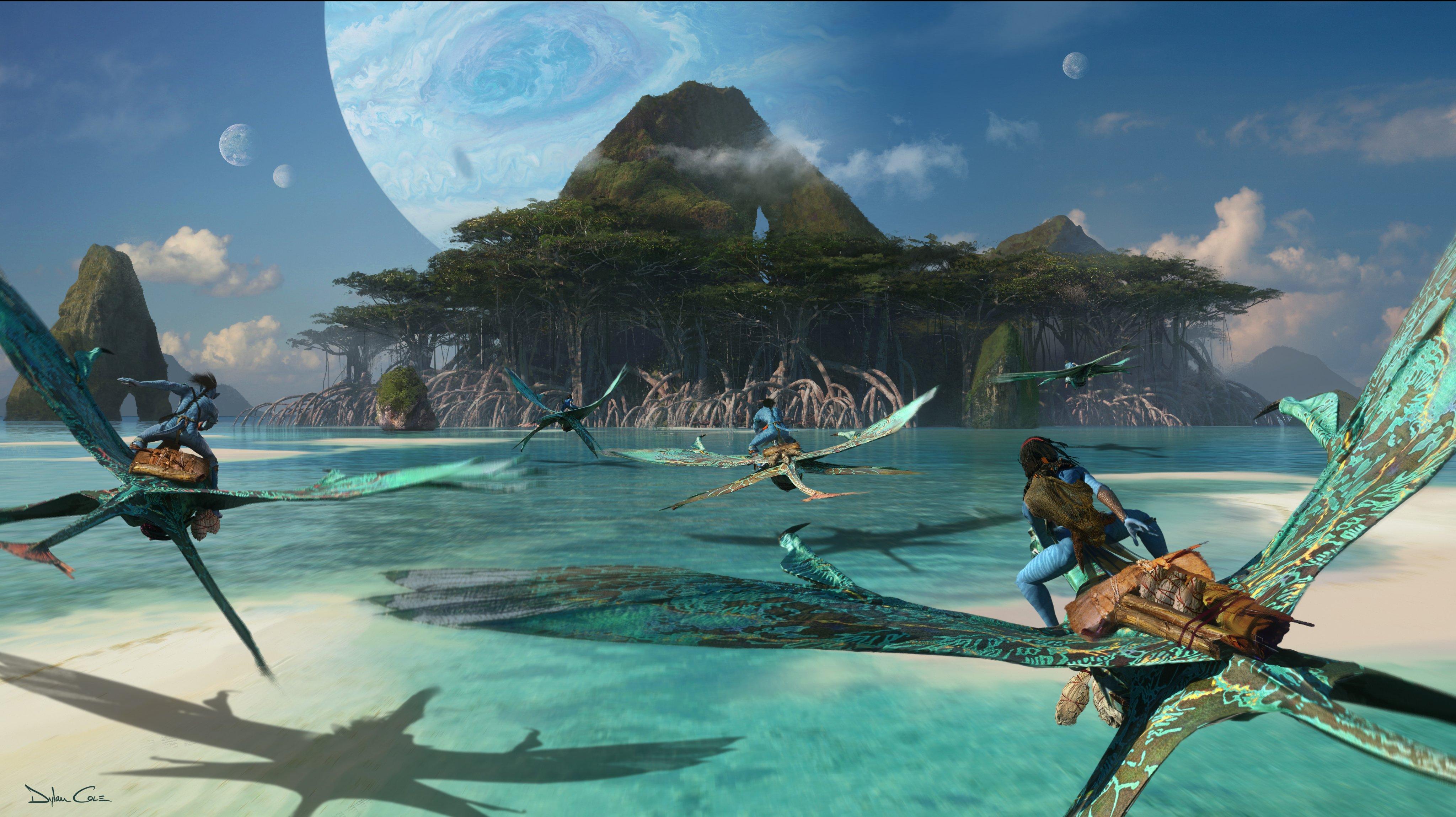 James Cameron dévoile de nouvelles images d'Avatar 2