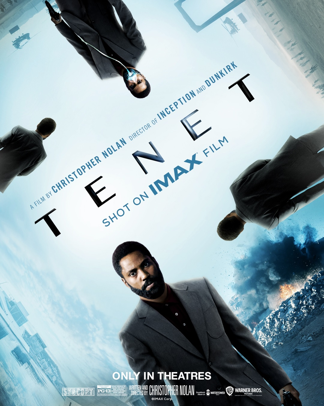 Le film sortira bien à la fin de l'été en France — Tenet