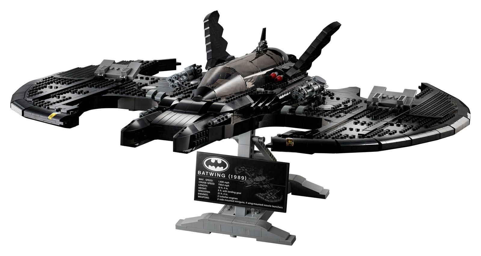 Batman : LEGO dévoile un magnifique set 'Batwing 1989 ...