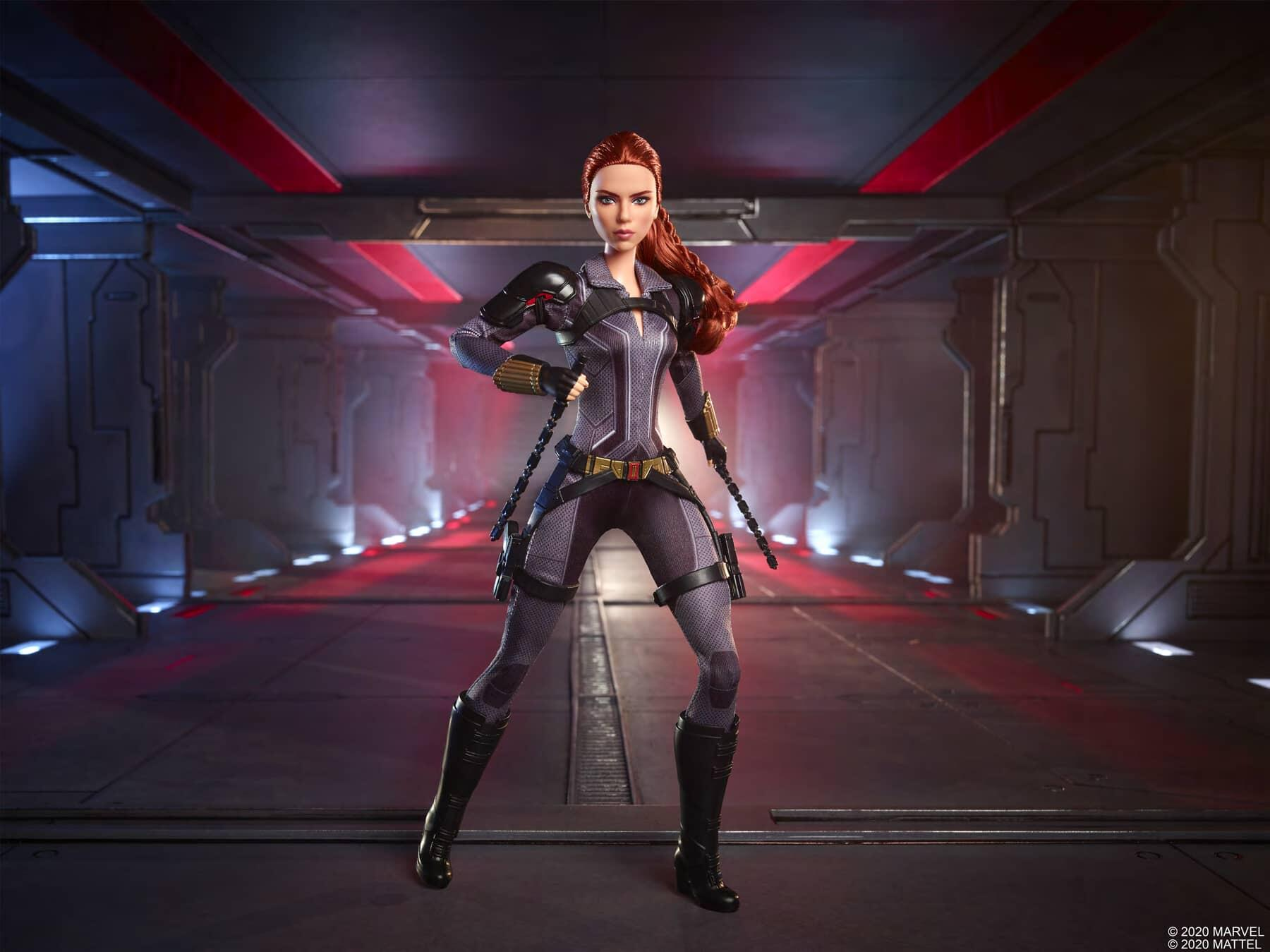 Black Widow : Natasha Romanoff en version… Barbie !