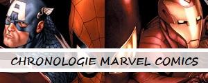 Chronologie Marvel Comics