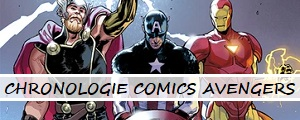Chronologie des comics Avengers