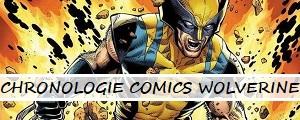 Chronologie des comics Wolverine