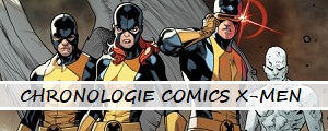 Chronologie des comics X-Men