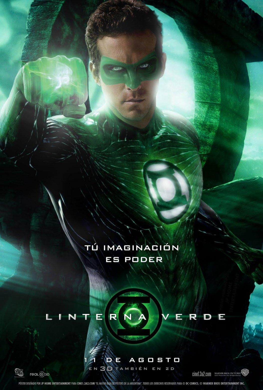 green lantern la bande annonce finale hal un gardien et sinestro les toiles