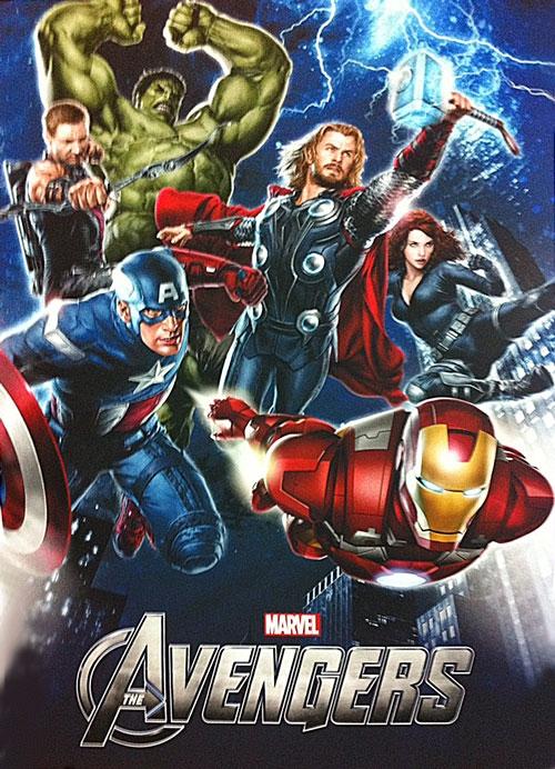 maj the avengers le poster promo avec tous les h ros marvel les toiles h ro ques. Black Bedroom Furniture Sets. Home Design Ideas