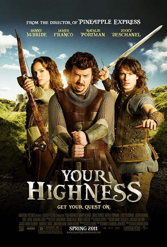 Your Highness : Nouvelle bande annonce + Poster du film ...